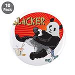 "Slacker Panda 3.5"" Button (10 pack)"