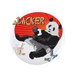 "Slacker Panda 3.5"" Button (100 pack)"