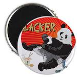 """Slacker Panda 2.25"""" Magnet (10 pack)"""