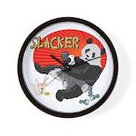 Slacker Panda Wall Clock