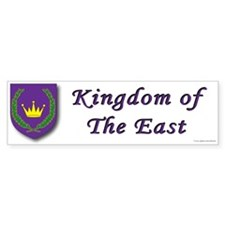 East kingdom Bumper Sticker (50 pk)