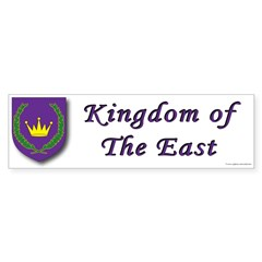 East kingdom Bumper Sticker (10 pk)