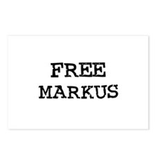 Free Markus Postcards (Package of 8)