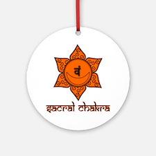Sacral Chakra Ornament (Round)