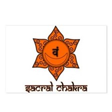 Sacral Chakra Postcards (Package of 8)