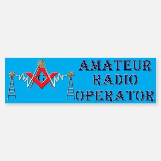 Amateur Radio Mason Bumper Bumper Bumper Sticker