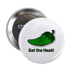 "Eat the Heat! 2.25"" Button (10 pack)"