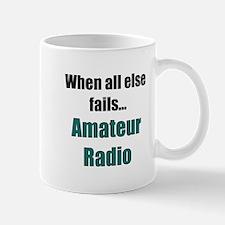 When all else fails..Amateur Radio Mug