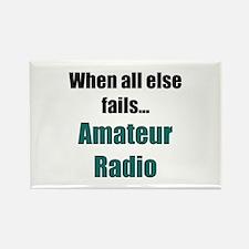 When all else fails..Amateur Radio Rectangle Magne