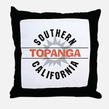 Topanga California Throw Pillow