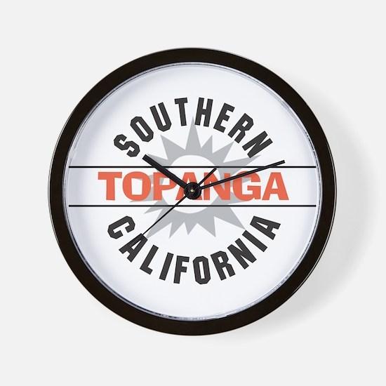 Topanga California Wall Clock