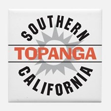 Topanga California Tile Coaster