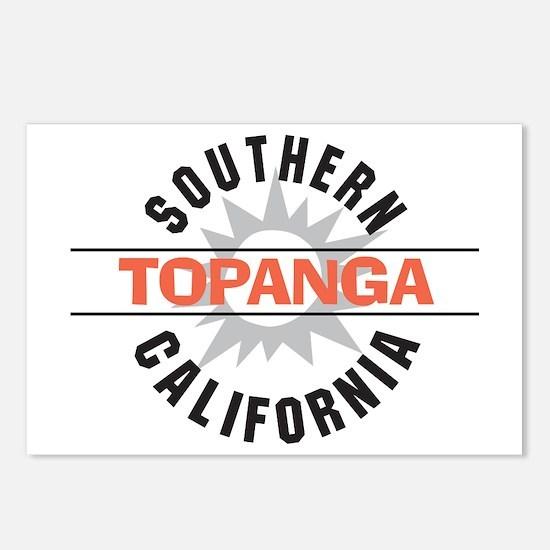 Topanga California Postcards (Package of 8)