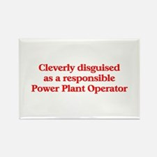 Power Plant Operator Rectangle Magnet (10 pack)
