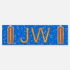 Masonic Junior Warden Bumper Bumper Bumper Sticker
