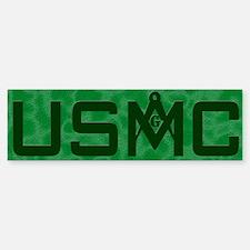 Masonic USMC Bumper Bumper Bumper Sticker