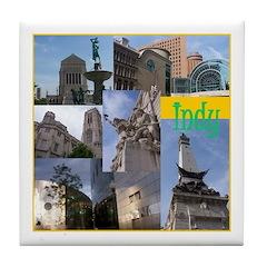 Tile Coaster - Indy