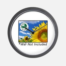 War Not Included Wall Clock