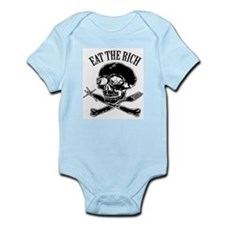 EAT THE RICH Infant Bodysuit