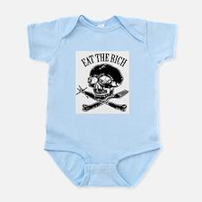 EAT THE RICH Infant Bodysuit
