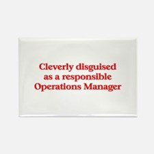 Operation Manager Rectangle Magnet (10 pack)