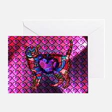 Chroma Calico Greeting Card