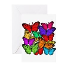 Brilliant Butterfly Design Greeting Cards (Pk of 1