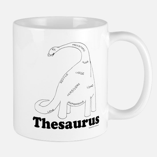 Cute Thesaurus Mug
