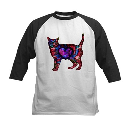 Chroma Calico Kids Baseball Jersey