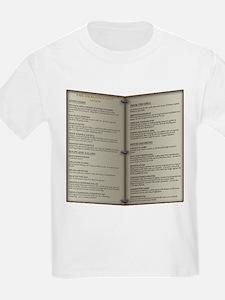 Dragon's Den Tavern Menu T-Shirt
