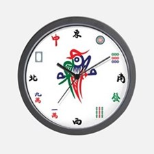 Cute Bamboo Wall Clock