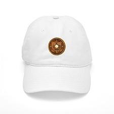 Compass Rose Moose Baseball Cap