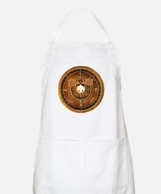 Compass Rose Moose BBQ Apron