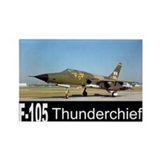 F-105 Thunderchief Rectangle Magnet