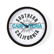 Carpinteria California Wall Clock