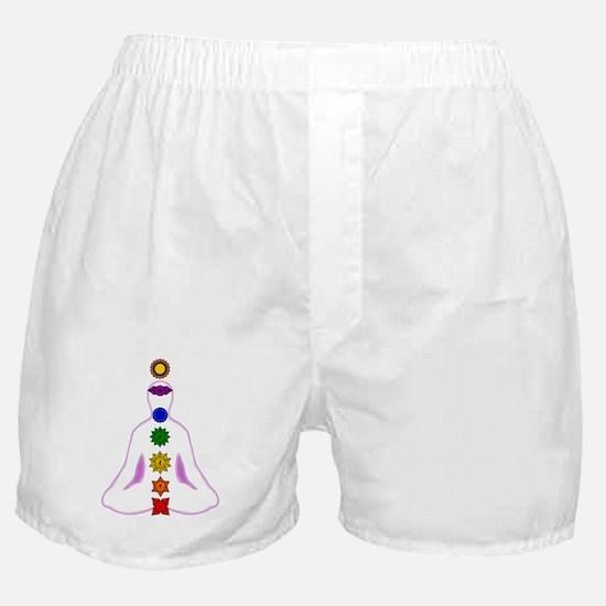 Chakras - Mandalas Boxer Shorts