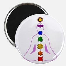 Chakras - Mandalas Magnet