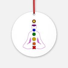 Chakras - Mandalas Ornament (Round)