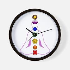 Chakras - Mandalas Wall Clock