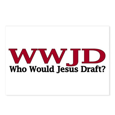 WWJD Postcards (Package of 8)