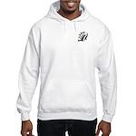 Tribal Pocket Frond Hooded Sweatshirt