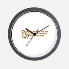Funny Almighty Wall Clock