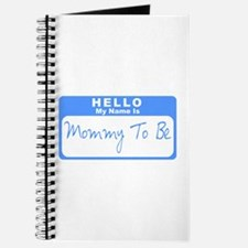 My Name Is Mommy To Be (Blue) Journal
