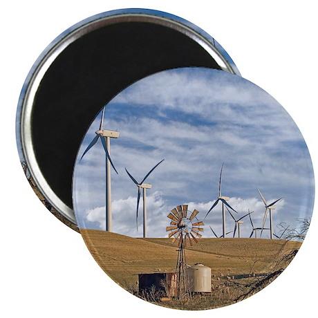 Blue Wind Magnet