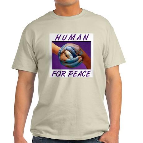 Human For Peace Light T-Shirt