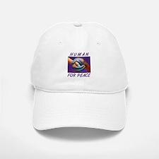 Human For Peace Baseball Baseball Cap