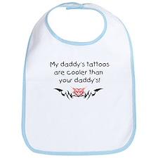 Daddy's tattoos Bib