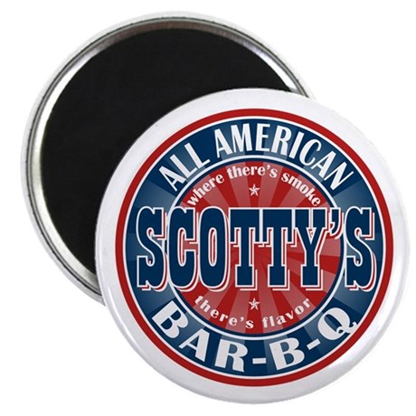 Scotty's All American BBQ Magnet