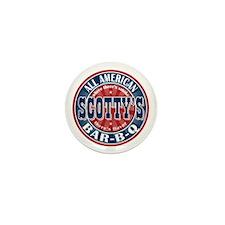 Scotty's All American BBQ Mini Button