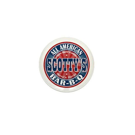 Scotty's All American BBQ Mini Button (100 pack)